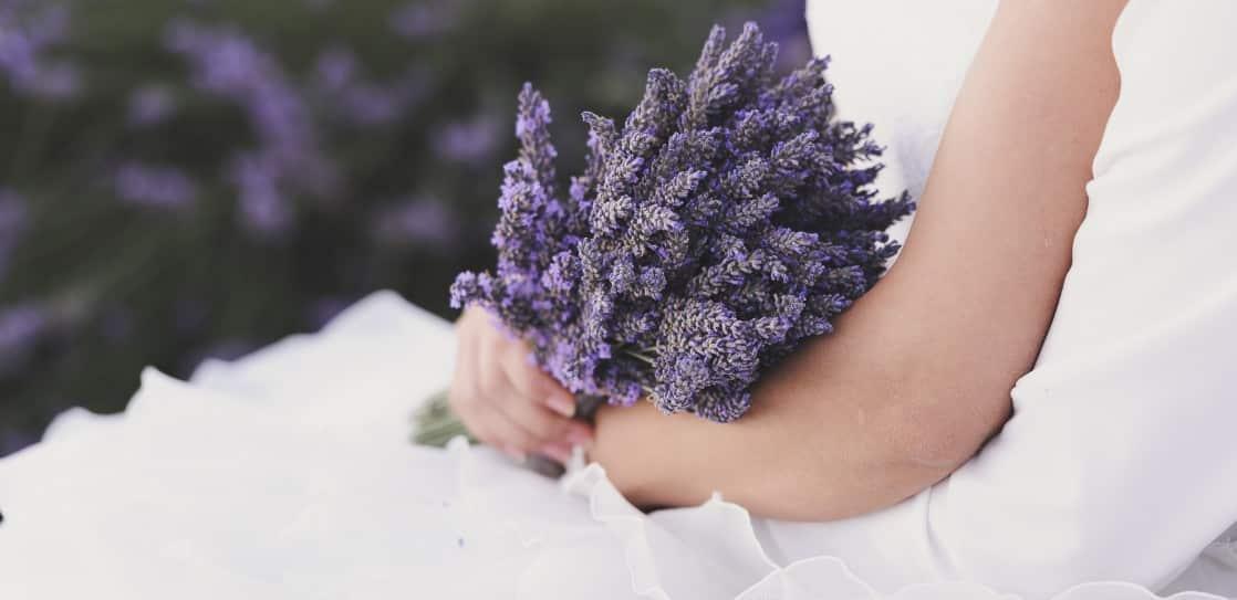 Hochzeit im Lavendelfeld